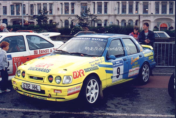 FRANK MEAGHER FORD SIERRA COSWORTH - 4 door Frank_Meagher_Manx_93
